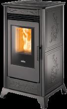 Ravelli – Stufa a Pellet RV 80 – 8 kw ad aria calda ventilata ...