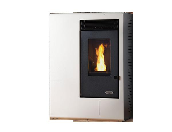 Karmek one stufa a pellet ibiza ad aria ventilazione - Ventilazione forzata casa ...