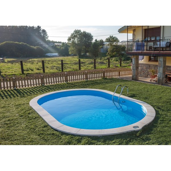 Gre piscina sumatra interrata in acciaio 700x320x120 cm for Accessori piscine gre