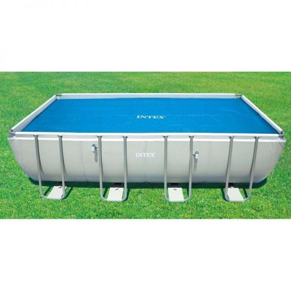 Intex telo termico solare per piscina rettangolare 549 for Accessori per piscine intex