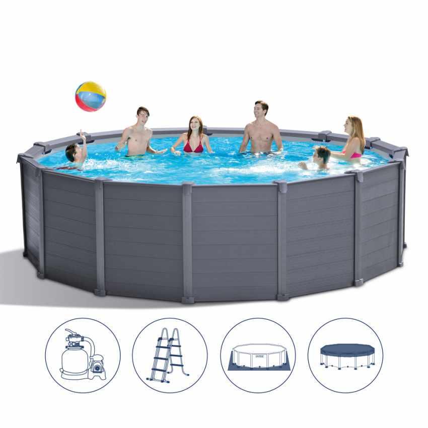 piscina-fuori-terra-in-grafite-intex-26384-rotonda-478-cm